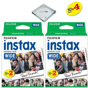Fujifilm instax Wide Instant Film 4 Pack (40 Exposures)