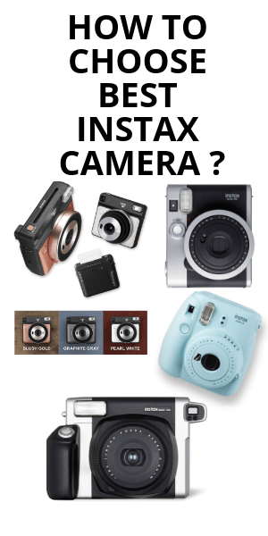 How to Choose Best insstax camera ?