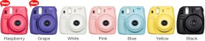 Instax mini 8 colors
