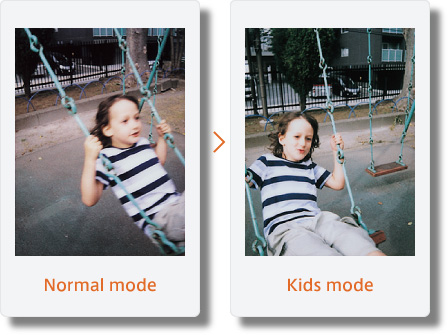 Instax mini 90 Kids Mode