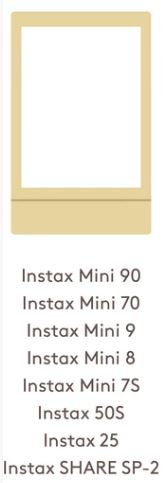 Instax mini film size
