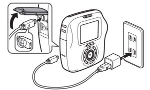 Charging the battery instax sq20