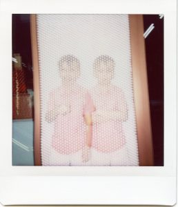 Double Exposure half image instax sq20