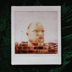 Double exposure Silhouette - Instax sq20